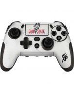 OSU Ohio State Buckeyes Light Grey PlayStation Scuf Vantage 2 Controller Skin