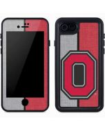 OSU Ohio State Buckeyes Split iPhone 7 Waterproof Case