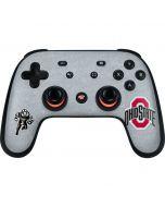 OSU Ohio State Logo Google Stadia Controller Skin