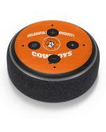 OSU Oklahoma Cowboys Orange Amazon Echo Dot Skin