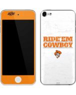 OSU Oklahoma Ride Em Cowboy Apple iPod Skin
