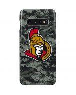 Ottawa Senators Camo Galaxy S10 Plus Lite Case
