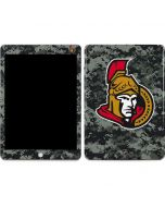 Ottawa Senators Camo Apple iPad Skin