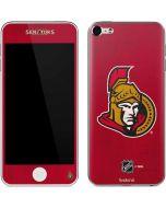 Ottawa Senators Distressed Apple iPod Skin