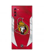 Ottawa Senators Home Jersey Galaxy Note 10 Skin
