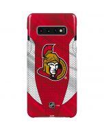 Ottawa Senators Home Jersey Galaxy S10 Plus Lite Case