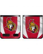 Ottawa Senators Home Jersey Galaxy Z Flip Skin