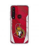 Ottawa Senators Home Jersey Moto G8 Plus Clear Case