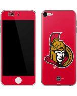 Ottawa Senators Solid Background Apple iPod Skin