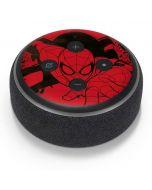 Outline of Spider-Man Amazon Echo Dot Skin