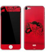 Outline of Spider-Man Apple iPod Skin