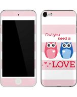 Owl Is All You Need Apple iPod Skin
