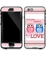 Owl Is All You Need LifeProof Nuud iPhone Skin