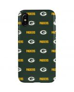 Green Bay Packers Blitz Series iPhone XS Pro Case