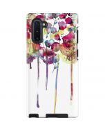 Painted Flowers Galaxy Note 10 Pro Case