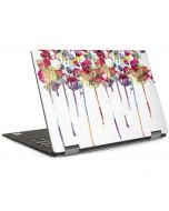 Painted Flowers Dell XPS Skin