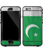 Pakistan Flag Distressed LifeProof Nuud iPhone Skin
