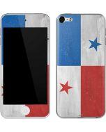 Panama Flag Distressed Apple iPod Skin