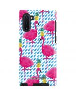 Party Flamingos Galaxy Note 10 Pro Case
