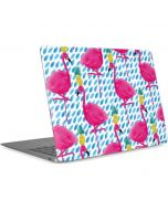 Party Flamingos Apple MacBook Air Skin