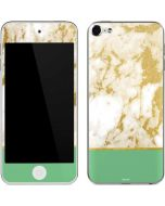 Pastel Marble Apple iPod Skin