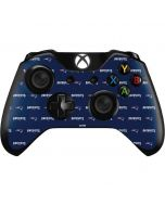 New England Patriots Blitz Series Xbox One Controller Skin