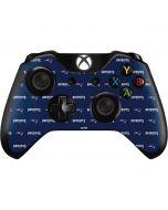 New England Patriots Blitz Series Xbox One Controller Skin