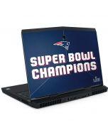 Patriots Super Bowl LIII Champions Dell Alienware Skin