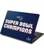 Patriots Super Bowl LIII Champions Dell Chromebook Skin