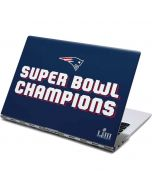 Patriots Super Bowl LIII Champions Yoga 910 2-in-1 14in Touch-Screen Skin