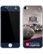 Patriots Super Bowl XLIX Champs Apple iPod Skin