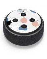 Patterned Dots Amazon Echo Dot Skin