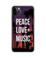 Peace Love And Music iPhone 11 Pro Max Skin