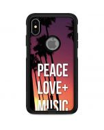 Peace Love And Music Otterbox Commuter iPhone Skin