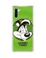 Pepe Le Pew Full Galaxy Note 10 Clear Case