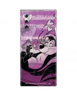 Pepe Le Pew Purple Romance Galaxy Note 10 Skin