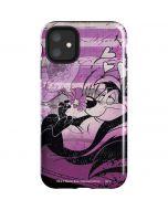 Pepe Le Pew Purple Romance iPhone 11 Impact Case