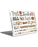 Peter Horjus - Trust In the Lord Apple MacBook Air Skin