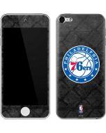 Philadelphia 76ers Black Rust Apple iPod Skin