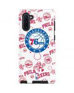 Philadelphia 76ers Blast Galaxy Note 10 Pro Case