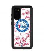 Philadelphia 76ers Blast Galaxy S20 Waterproof Case
