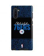 Philadelphia 76ers Elephant Print Galaxy Note 10 Pro Case