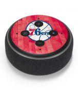 Philadelphia 76ers Hardwood Classics Amazon Echo Dot Skin