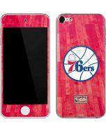 Philadelphia 76ers Hardwood Classics Apple iPod Skin