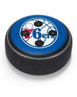 Philadelphia 76ers Large Logo Amazon Echo Dot Skin