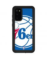 Philadelphia 76ers Large Logo Galaxy S20 Waterproof Case