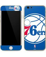 Philadelphia 76ers Large Logo iPhone 6/6s Skin