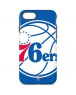 Philadelphia 76ers Large Logo iPhone 8 Pro Case