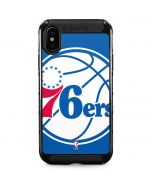 Philadelphia 76ers Large Logo iPhone XS Max Cargo Case
