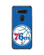 Philadelphia 76ers Large Logo LG K51/Q51 Clear Case